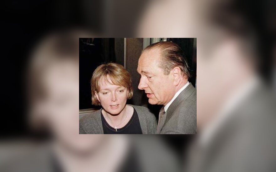 Claude and Jacques Chirac