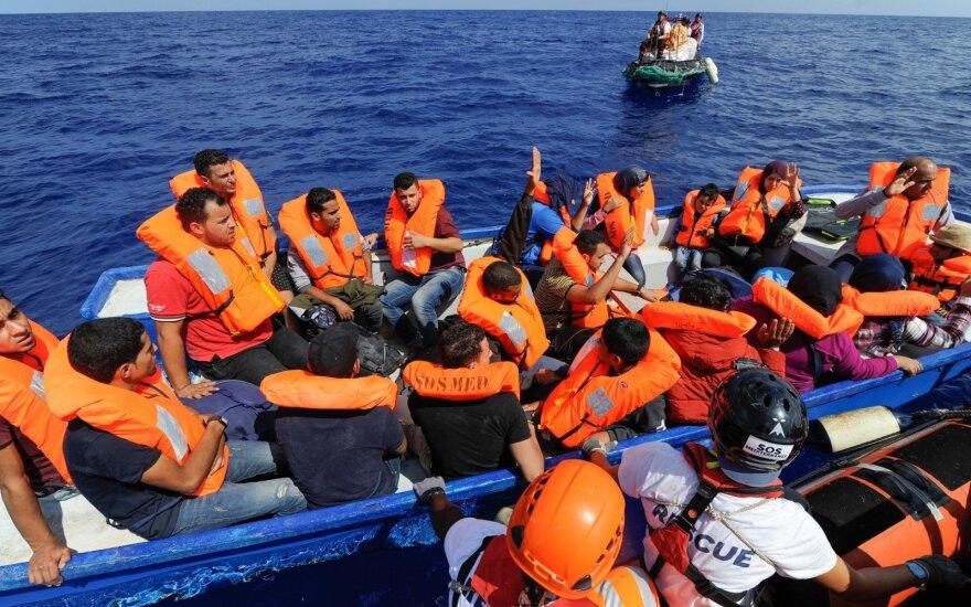 Prie Libijos pakrantės žuvo penki migrantai, dar 200 išgelbėti
