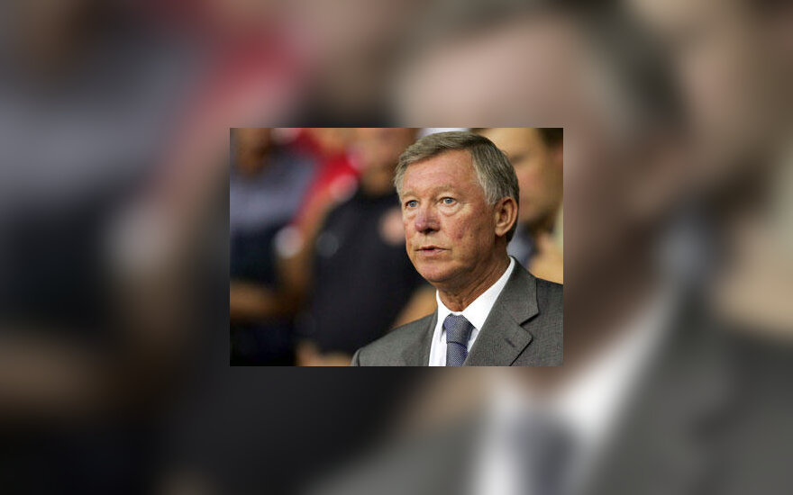 "Alex Ferguson ""Man. United"" treneris"