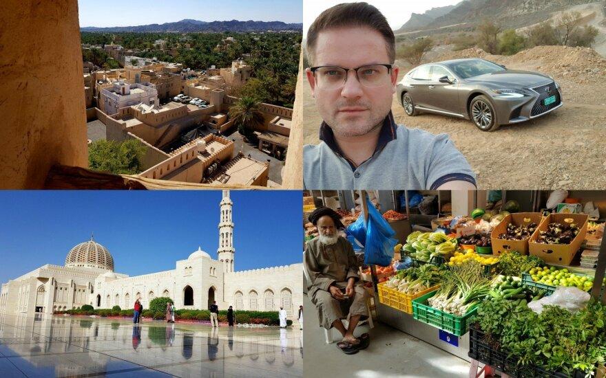 Edvardo Žičkaus įspūdžiai iš Omano