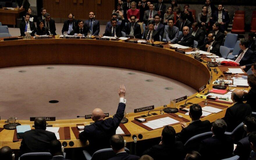 Jungtinės Tautos į juodąjį sąrašą įtraukė daugybę laivų ir įmonių
