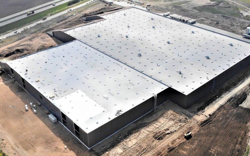 SBA Technologijų ir inovacijų parke statoma nauja gamykla