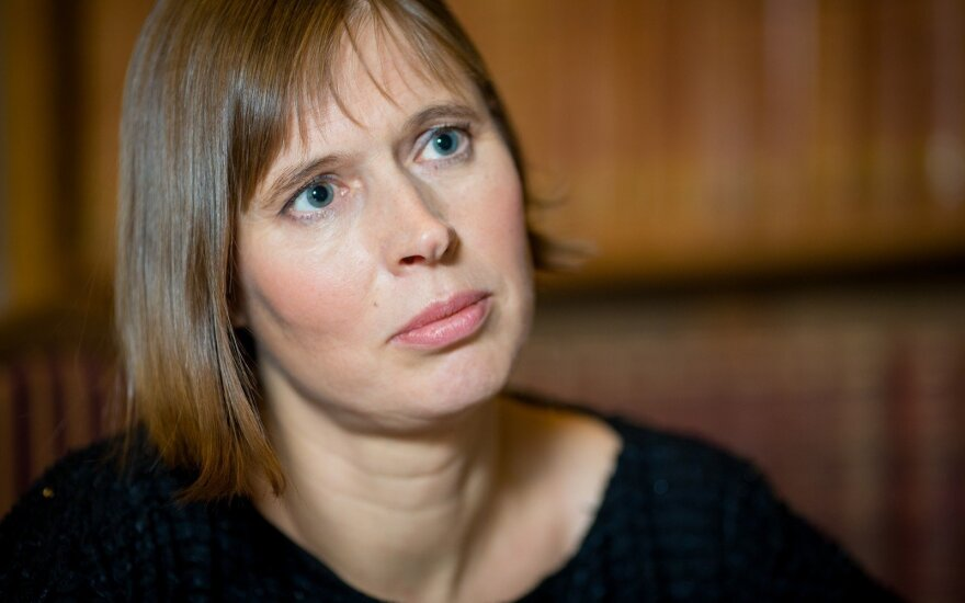 President of Estonia Kersti Kaljulaid