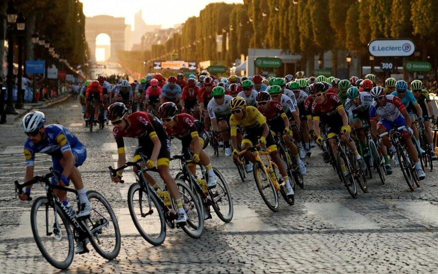"""Tour de France"" lenktynės"