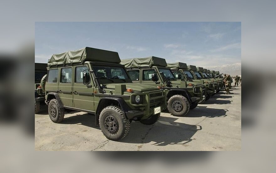 Mercedes Benz military SUVs
