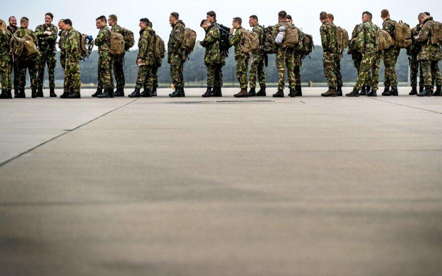 Per pratybas Norvegijoje NATO demonstruos savo karinius raumenis