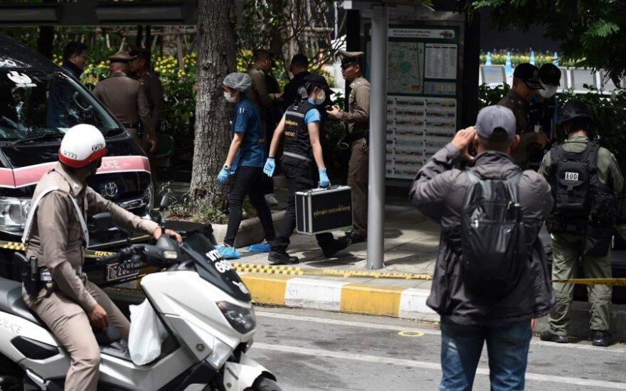 Tailando policija tiria sprogimo vietą