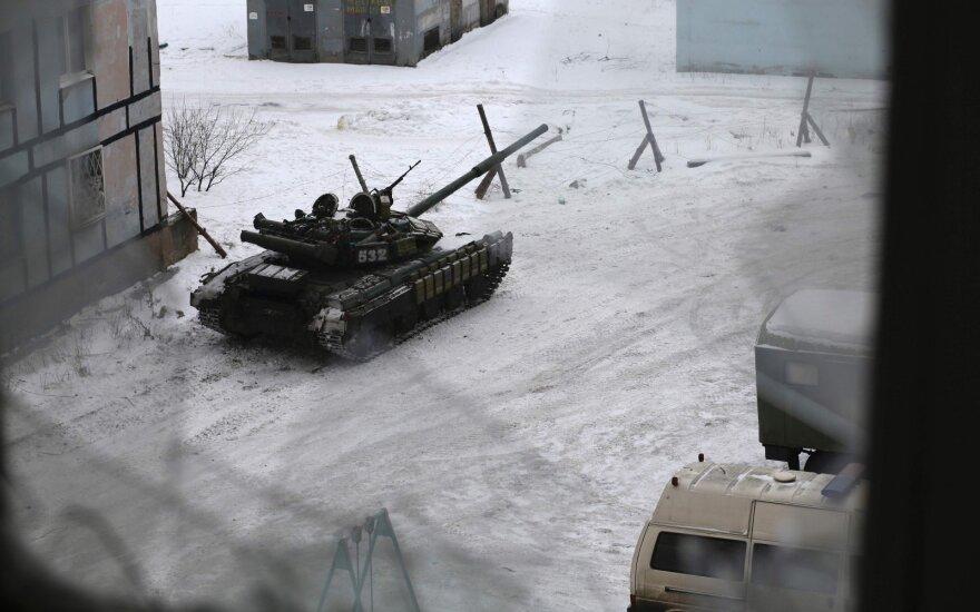 Susirėmimai nerimsta – Ukrainos rytuose žuvo dar devyni žmonės