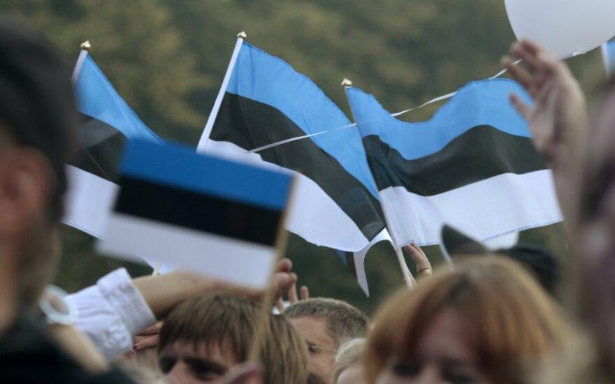 Estija, Estijos vėliava