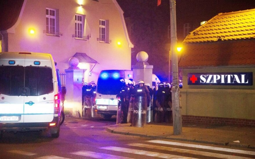Futbolo sirgalių riaušės Lenkijoje