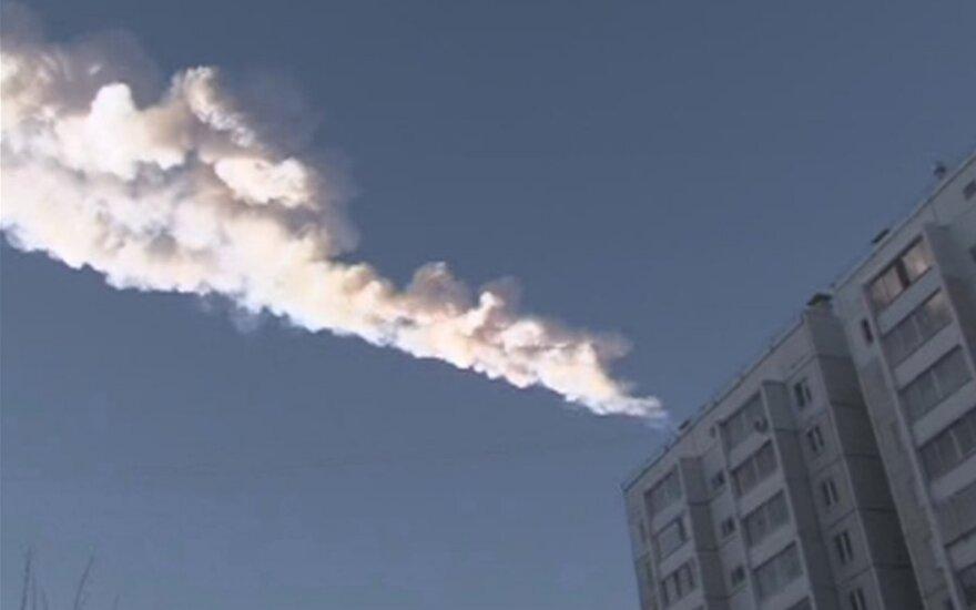 Čeliabinske nukritęs meteoritas padidino cinko kainas Londone