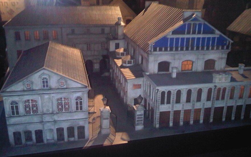 Vilnius Great Synagogue mockup