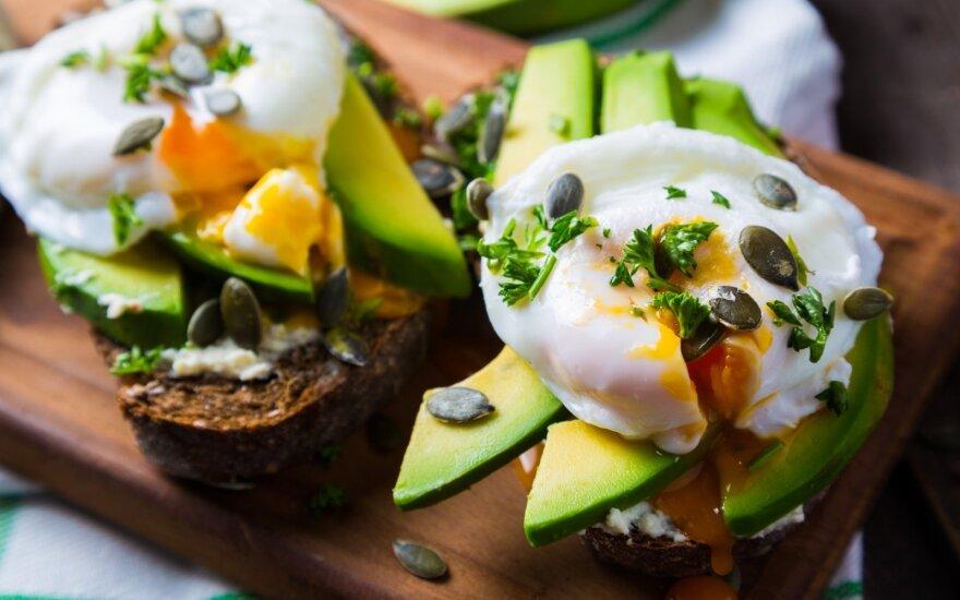 10 maisto produktų jaunystei išsaugoti