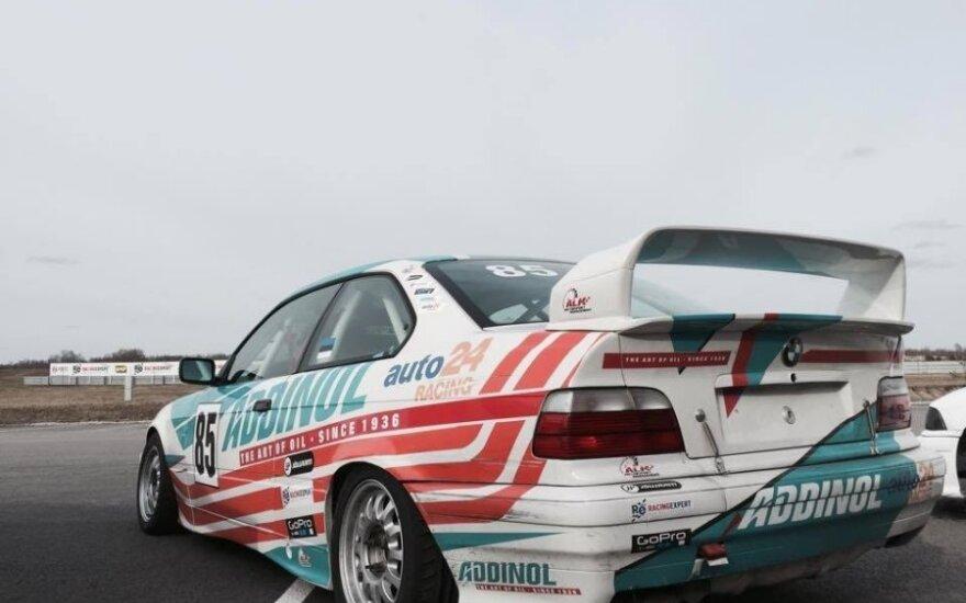Legendinių BMW automobilių lenktynėse važiuos ir lietuvis