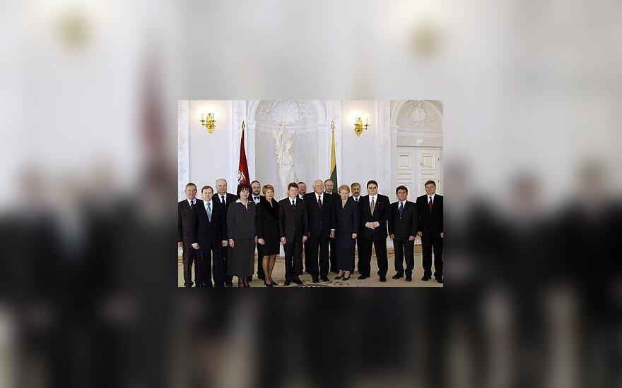 Vyriausybės kabineto nariai