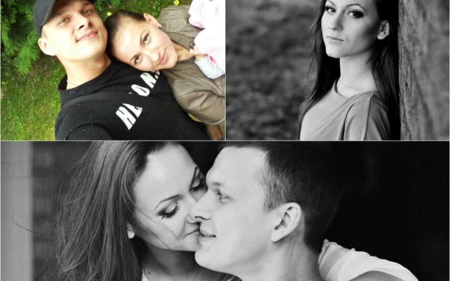 Kristina Šerkšnienė su vyru