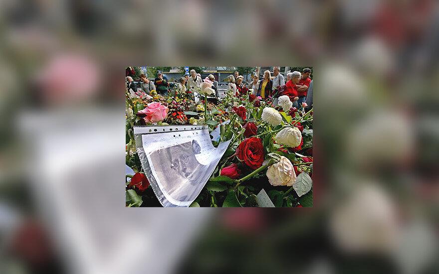 A.Lindh laidotuvės