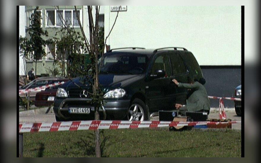 Vilniuje rastas G.Kiesaus automobilis