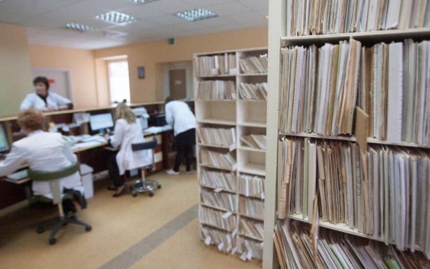 Ligonės nusivylimas: galimybė užsiregistruoti pas gydytoją - nulinė