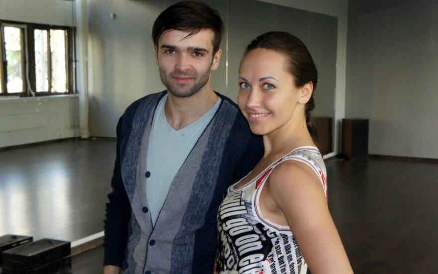Šarūnas Kirdeikis ir Veronika Gordijevskaja