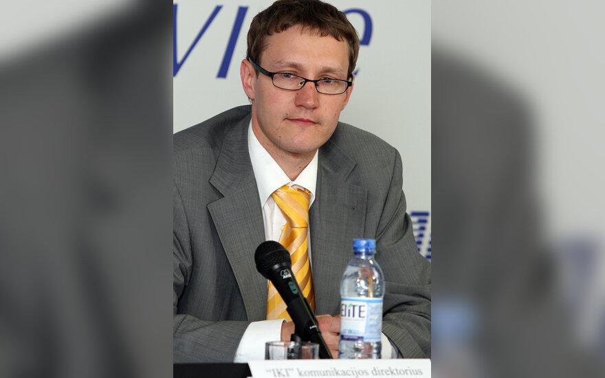 """""""Iki"""" komunikacijos direktorius Tomas Vaišvila"""