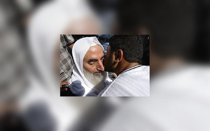 """Hamas"" dvasinis vadovas Sheikh Ahmed Yassin"