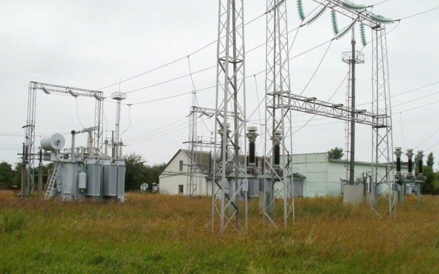 Elektra Lietuvoje praėjusią savaitę brango 13 proc.