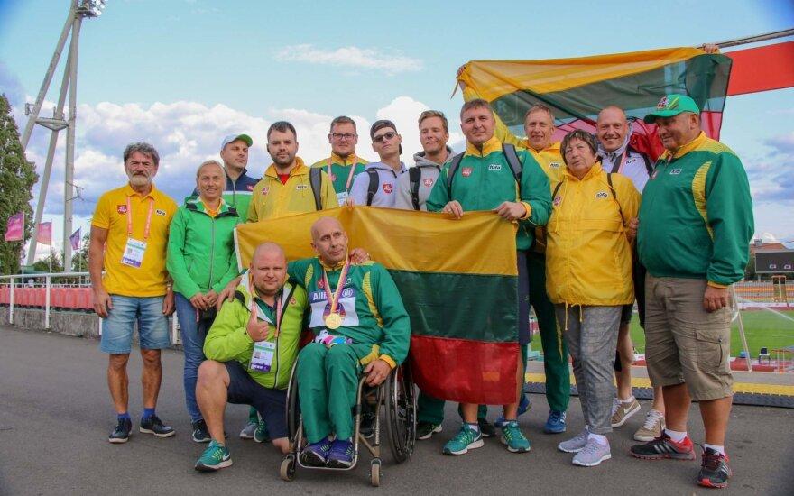 Neįgaliųjų lengvoji atletika / FOTO: Paralympics.lt