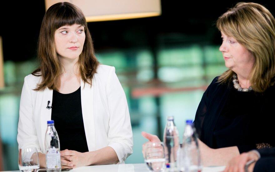 EP debatai: Radvilė Morkūnaitė-Mikulienė ir Vilija Blinkevičiūtė