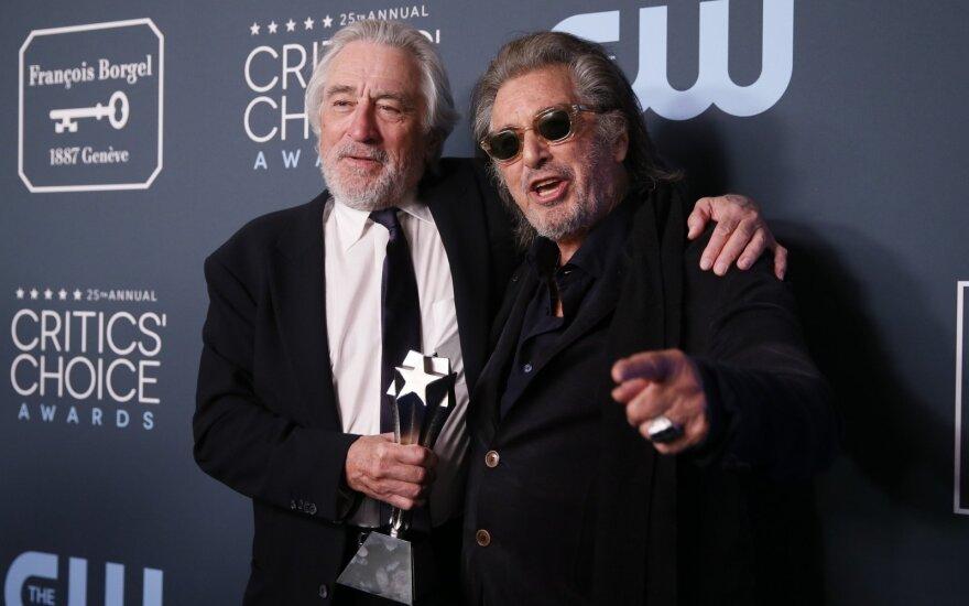 Robert DeNiro ir Alas Pacino