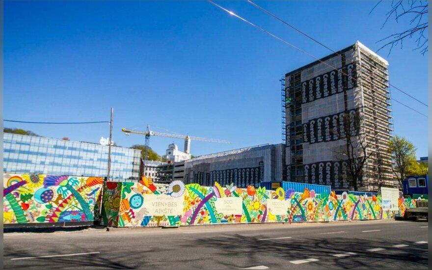Kaunas auga tiesiogine žodžio prasme: pastatai mieste darosi vis aukštesni