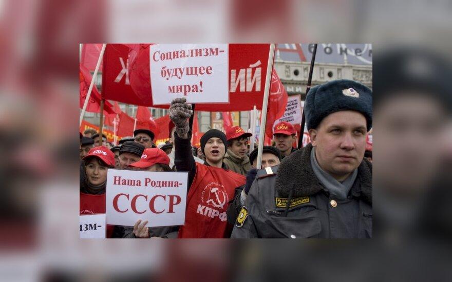 Komunistai ir libdemai nori grąžinti paminklą F.Dzeržinskiui