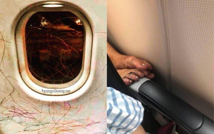 Blogiausi keleiviai