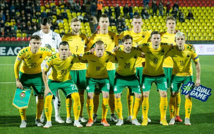 Lietuva FIFA reitinge smunka žemyn: aplenkė Nikaragva, Turkmėnija ir Karibų jūros salos