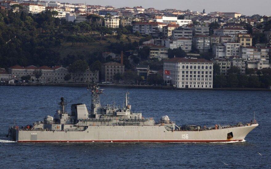 Po ES kritikos Rusija atsisakė sumanymo Ispanijos uoste įsipilti degalų karo laivams