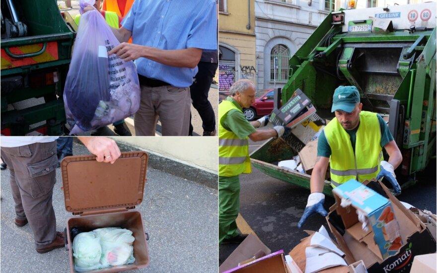Atskiras atliekų surinkimas Š. Italijoje