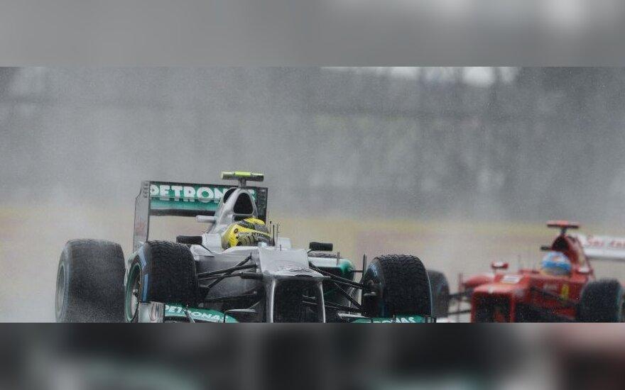 Nico Rosbergas ir Fernando Alonso
