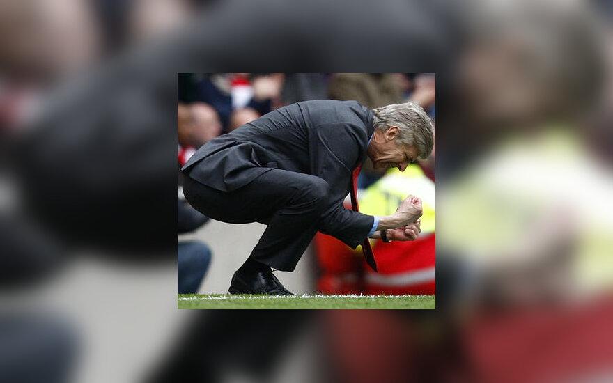 """""""Arsenal"""" treneris Arsene Wenger"""