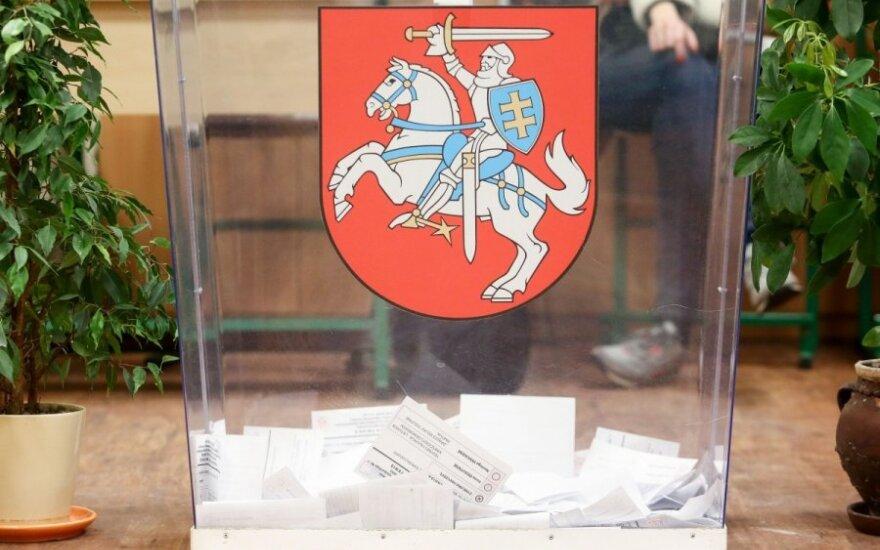 Siūlo Seimo narius rinkti tik vienmandatėse apygardose