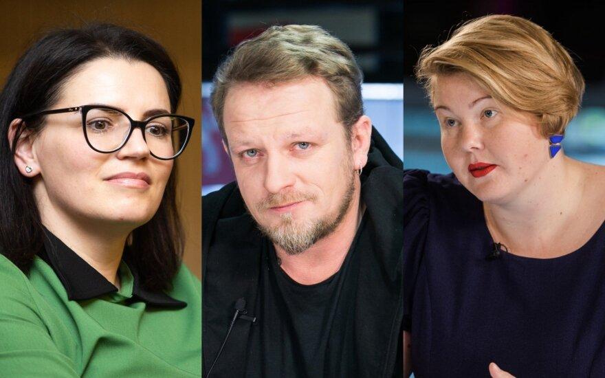 Renata Šakalytė-Jakovleva, Maksas Melmanas, Giedrė Valavičiūtė
