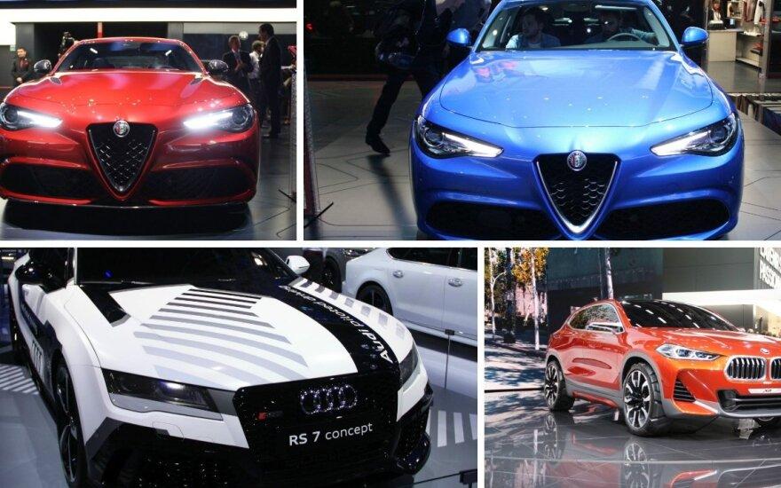 Automobiliai parodoje