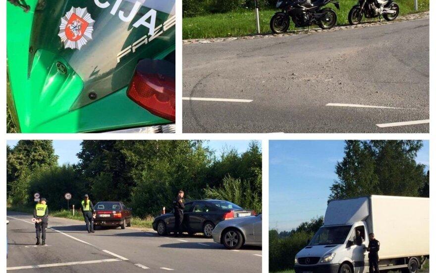 Klaipėdos policijos reidas: kai kuriems vairuotojams dar ne vasara