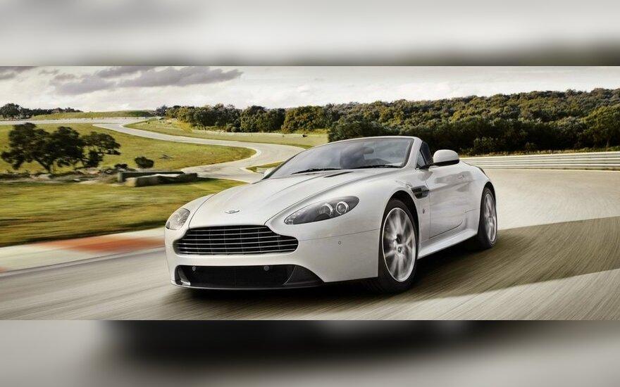 """Dabar kijeviečiai važinės """"Aston Martin"""" automobiliais"""