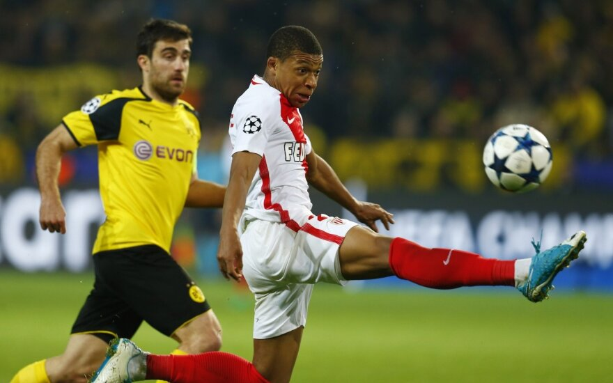 """Čempionų lygos rungtynės: """"Borussia"""" – """"Monaco"""""""
