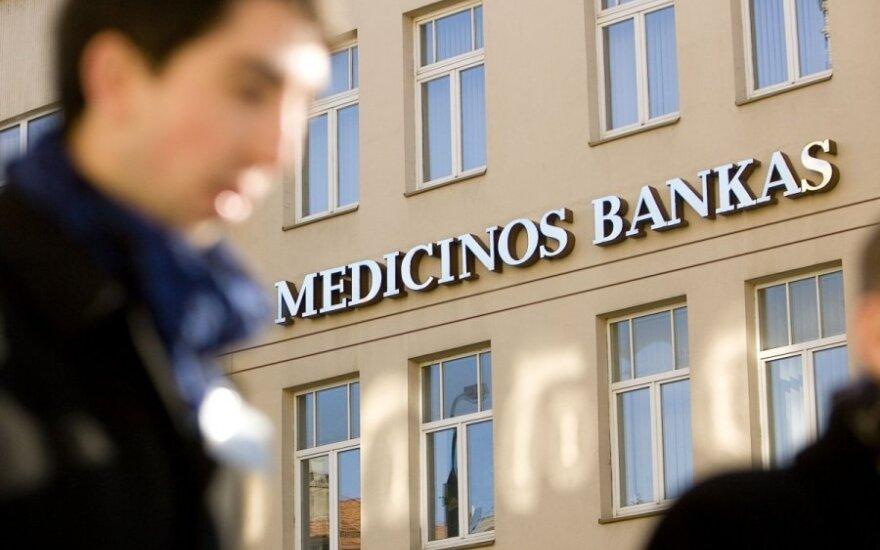 Medicinos bankas išplatino obligacijų už 2,2 mln. eurų