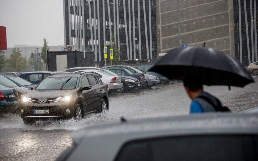 Kelininkai: naktį numatomas lietus, rytą kai kur formuosis plikledis