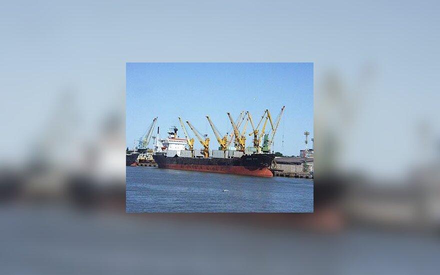 Laivas, Klaipėda, Uostas, Danė