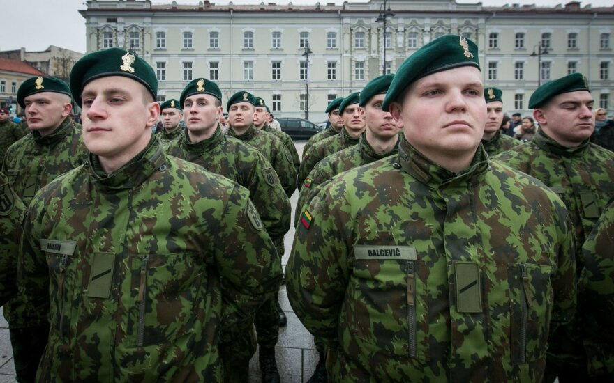 Lithuania to stage military parade in Vilnius to mark army centennial