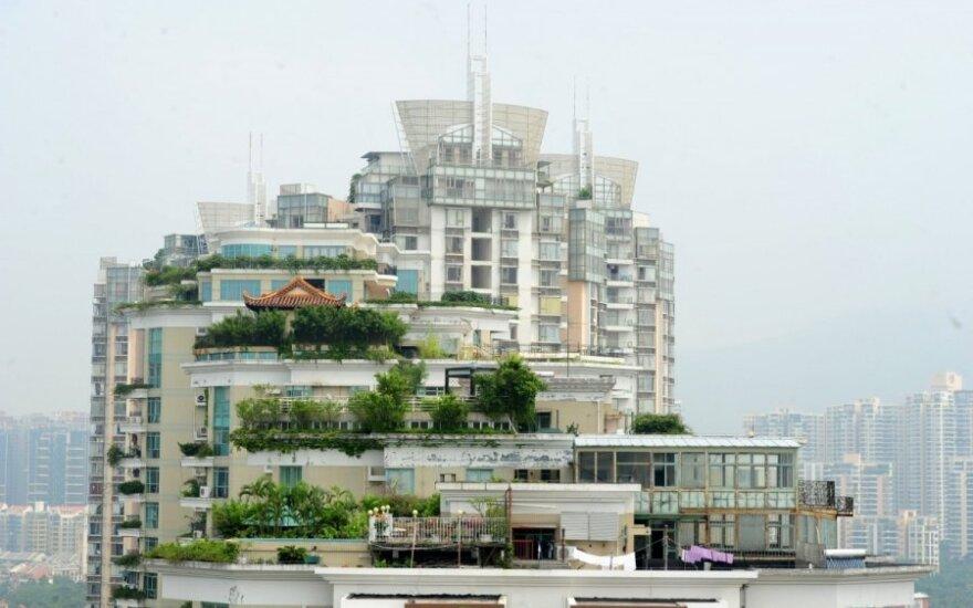 Pasaulio dėmesio centre – dar įdomesnis nelegalus pastatas