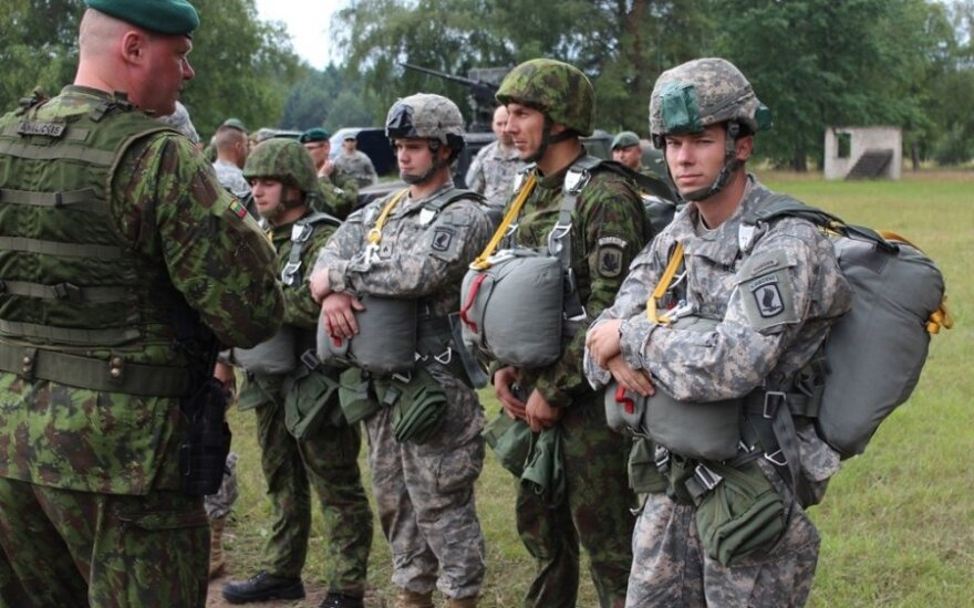 Joint military exercise with the US troops in Klaipėda region